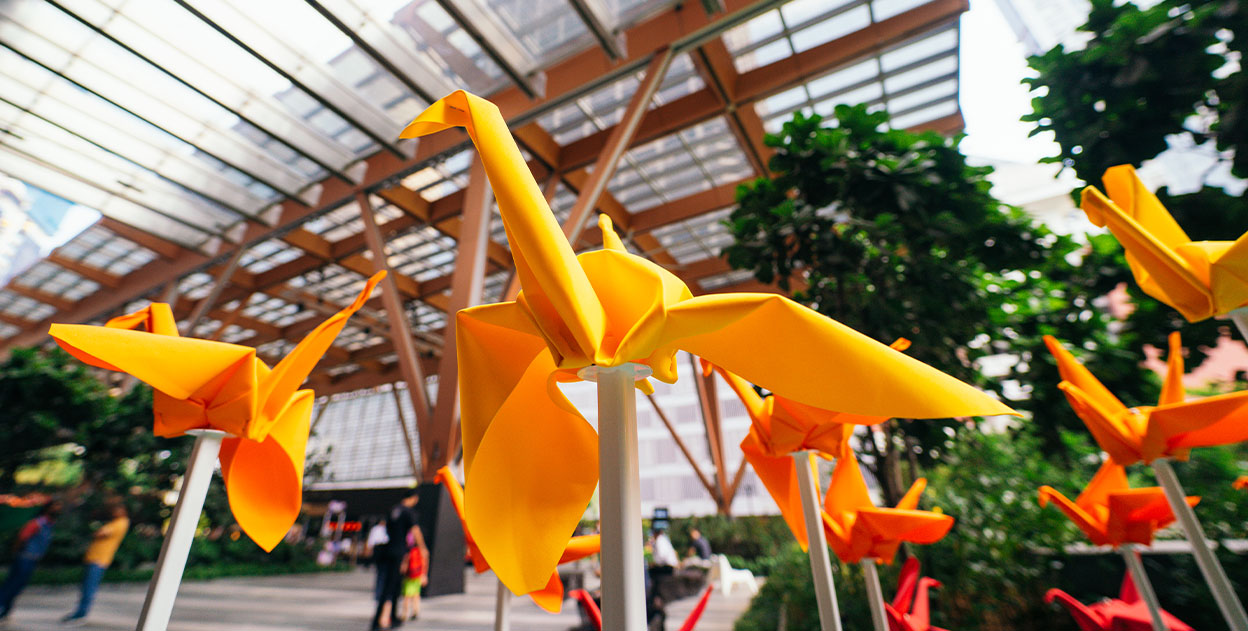Fascinating Facts About The Urban Park's ORIGAMe Installation